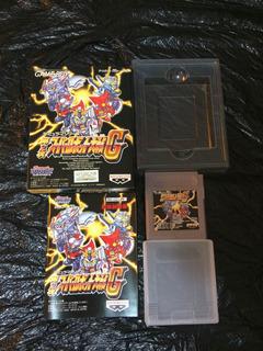 Gundam Super Robot Wars Nintendo Game Boy
