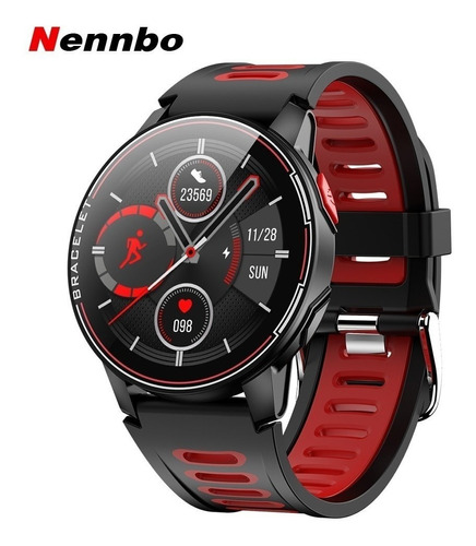 Reloj Inteligente Deportivo Nennbo L6  Hombres Mujeres Ip68