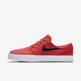 Tenis Nike Sb Stefan Janoski Red Canvas - Jundiaifashion