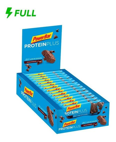 Barra Proteína Protein Plus Low Sugar Powerbar 35g Cx 30 Un