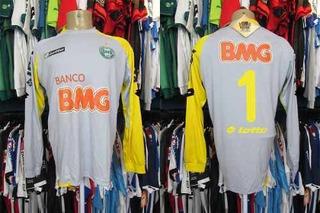 Coritiba 2011 Camisa De Goleiro Tamanho Gg Número 1.
