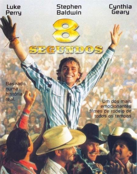 Dvd 8 Segundos- Filme De Rodeio- Dublado E Legendado
