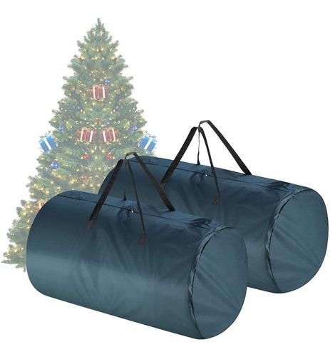 Imagen 1 de 2 de Bolsa Guardar Arbol Navidad Reforzada Grande Recamara Tinyt8