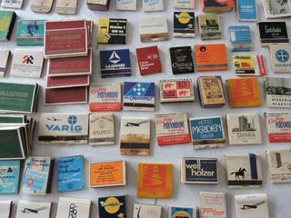 Lote Coleção Caixas De Fósforo Antigas Raras