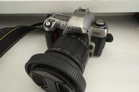 Nikon F80+tamron 28-200mm+bolsa Filtro Uv Parasol Manual