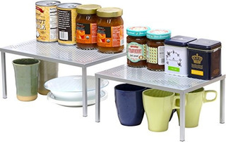 Simplehouseware Armario De Cocina Apilable Extensible Y Orga