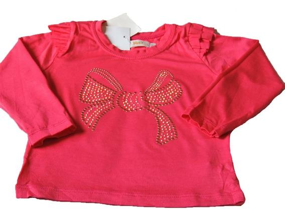 Camiseta Infantil Feminina Malha Apliques Trick Nick Tam.3