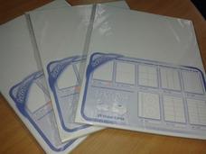 Hojas Carta Autoadhesivas Etiquetas Paquete 50 Und