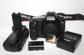 Canon 5d Mark Ii + Grip + Bateria + Carregador + Cartão Cf