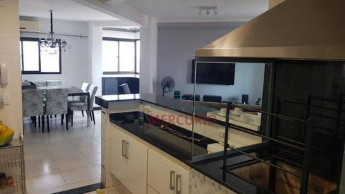 Imagem 1 de 13 de Apartamento À Venda, 138 M² Por R$ 650.000,00 - Vila Mesquita - Bauru/sp - Ap3791