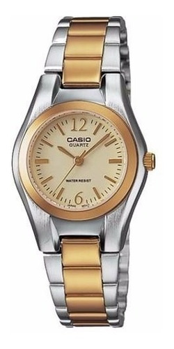 Reloj Casio Mujer Ltp1253sg Análogo + Resistente Al Agua
