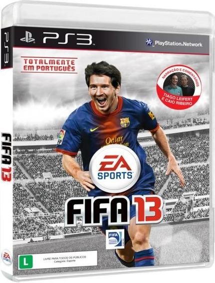 Jogo Fifa 13 Eletronic Arts Br Ps3 Lacrado