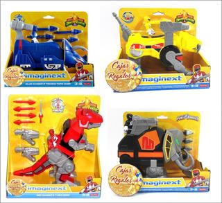 Power Rangers Coleccion 4 Zords Imaginext Ranger