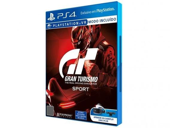 Gran Turismo Sport Ps4 Novo Lacrado Ab Games