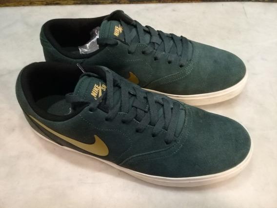 Nike Sb Check Verde Hombre