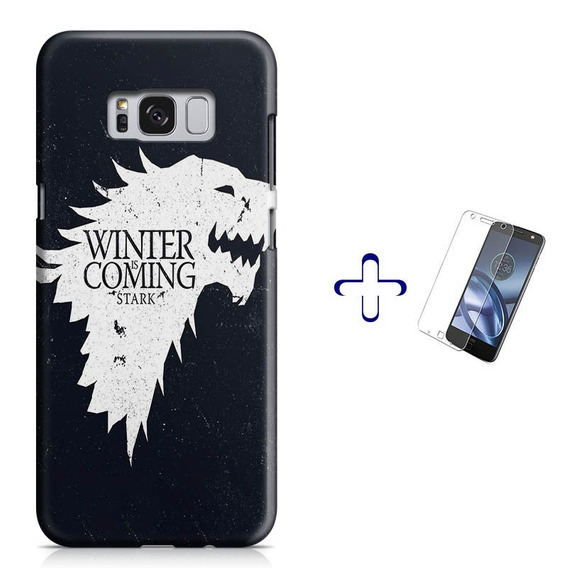 Kit Capa Galaxy S8 Game Of Thrones+ Pel.vidro Bd1