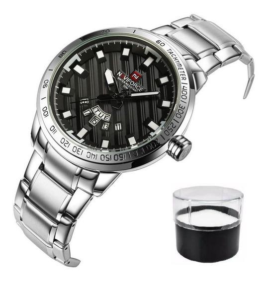 Relógio Masculino Naviforce Modelo 9090 Luxo Shark Original