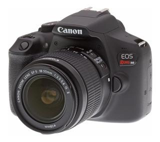 Canon T6 Kit 18 55 + Sd32gb +maleta