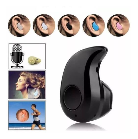 Mini Fone Bluetooth Discreto Ponto Pequeno