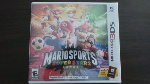 Imagen 1 de 2 de Mario Sports Super Stars 3ds Nuevo Sellado