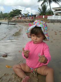 Kit 3 Camisas Para Bebê Com Proteção Uv 50+