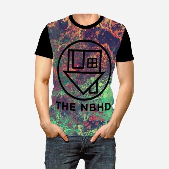 Camiseta Camisa Unissex The Neighbourhood Nbhd Banda Full