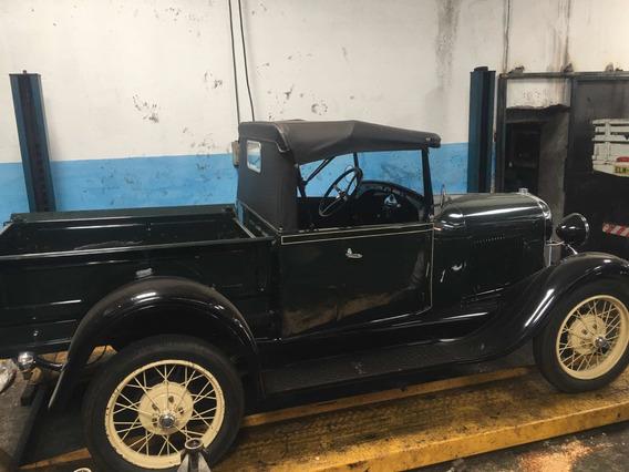 Ford 1929 Pick-up Naov8 Original Raro Modelo Antigo Ramona