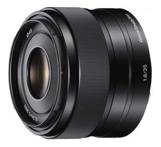 Lente Objetivo Sony 35mm Sel35f18 F1.8 Aps-c Montura E