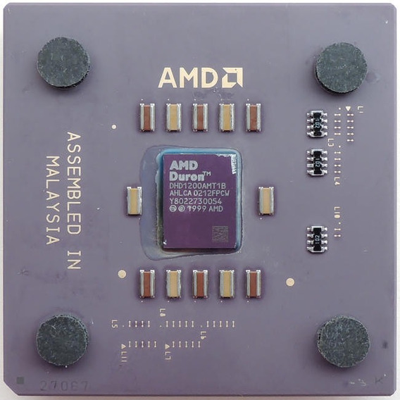 Processador Computador Pc Amd 462 Duron 1200 1.26 Ghz