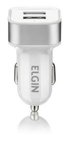 Carregador Veicular Usb 12v 2a 10w Elgin