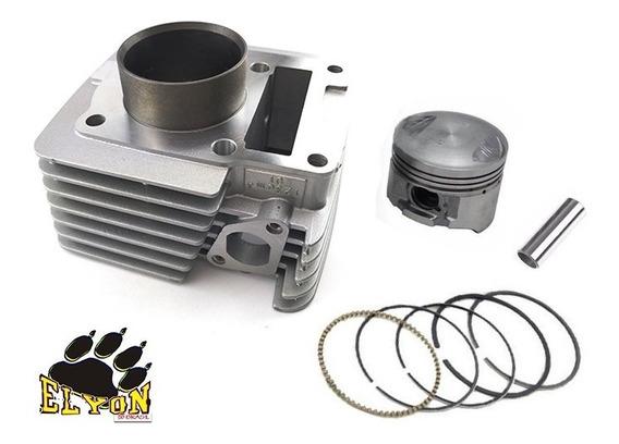 Kit Cilindro Motor Ybr 125 Factor 125 Xtz 125 2000 Á 2012