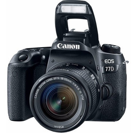 Canon 77d Com Lente 18-55mm F/3.5-5.6 Stm - Loja Platinum