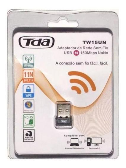 Wireless Adaptador Usb Wifi 150mbps Sem Fio Lan B/g/n