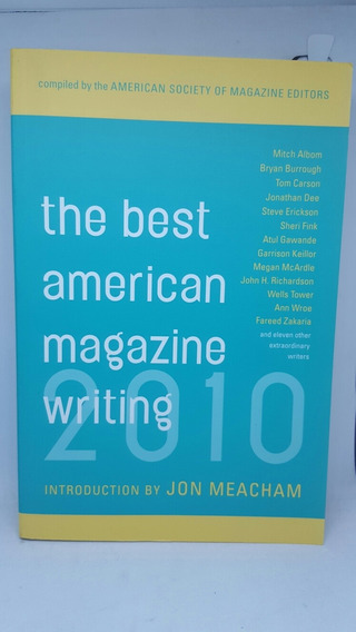 Libro Inglés Pasta Blanda La Mejor Revista Americana