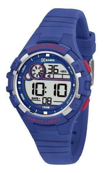 Relógio De Pulso Infantil X-games Cód. Xkppd010