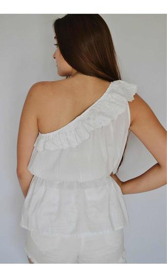 Blusa Mujer De Vestir Hombro Descubierto