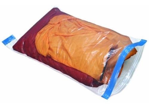 Saco Plástico Estanque Para Viagens Acoplar Roupas 3 Tamanho