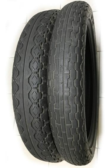2 Pneus Usados Pirelli Mandrake 4.10-18 Mt15 + 90/90-19 Mt39 Mandrake