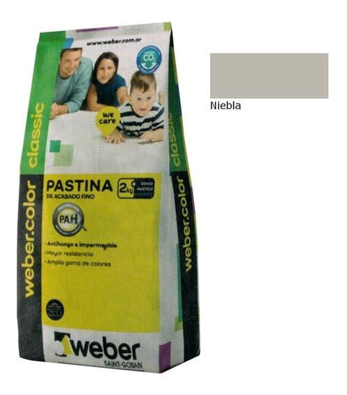 Weber Color Pastina Classic Niebla 2kg