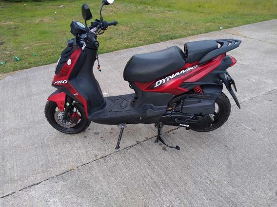 Esectacular Moto Dinamyc Pro-rojo Mate (como Nueva)