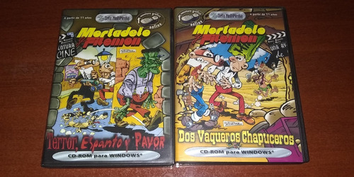 Imagen 1 de 5 de Juego Pc Mortadelo Y Filemón Físico Original