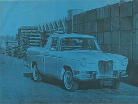 Siam Di Tella Argenta No. Pick Up Riley 1966 Motor 1.8