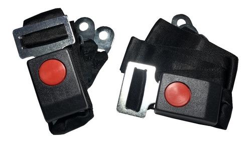 Juego Cinturon De Seguridad Delantero Universal 3 Puntos