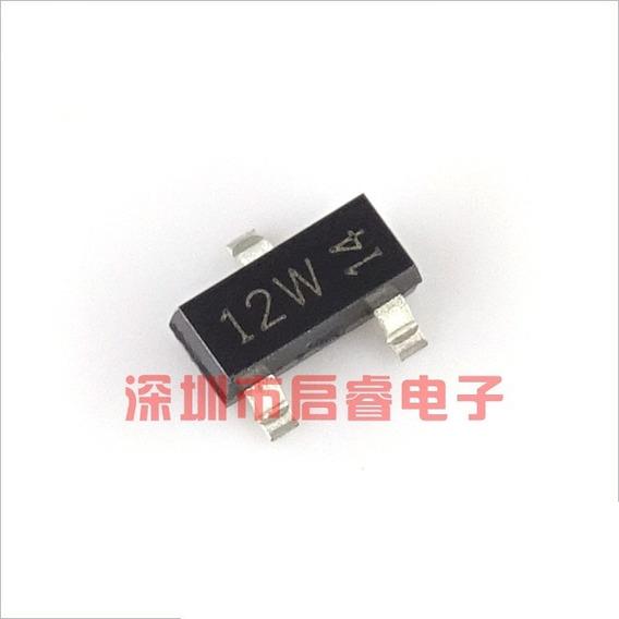 Kit 10 Pç - Transistor 12w Smd Sot-23