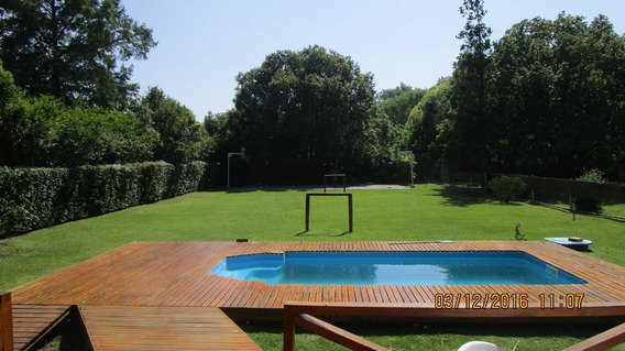 Alquiler Casa Quinta Pileta Basquet Futbol!!
