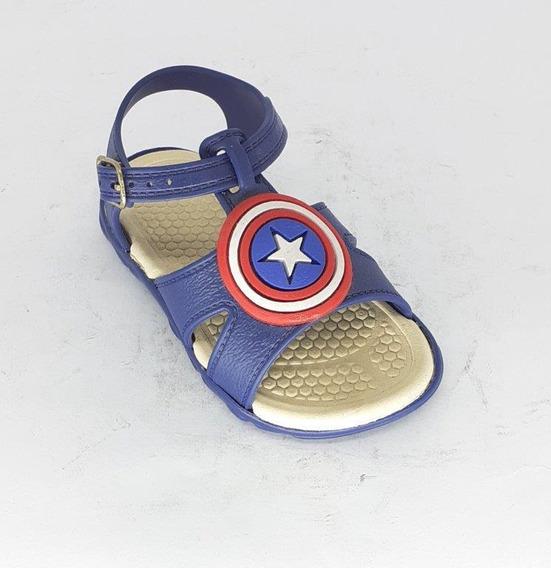 Sandalia Infantil Baby Kids Cap America
