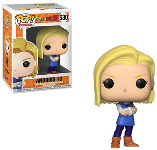 Funko Pop! Android 18 530 - Dragon Ball Z Muñeco Original