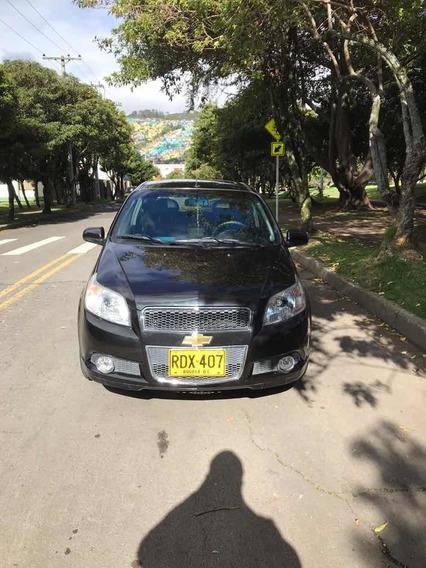 Chevrolet Aveo Black Edition