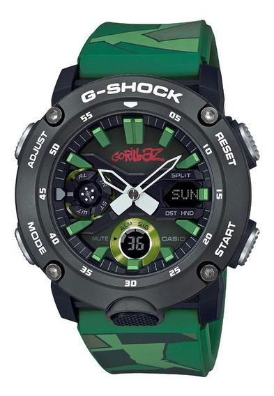 Casio G-shock X Gorillaz Reloj Segunda Edición Especial