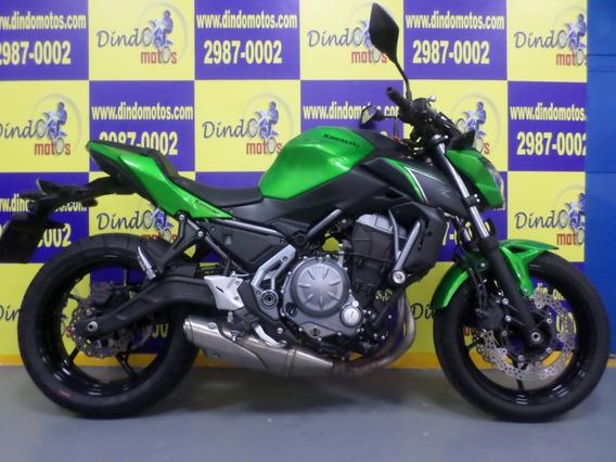 Kawasaki Z-650 Abs 2018 Linda! Baixo Km.